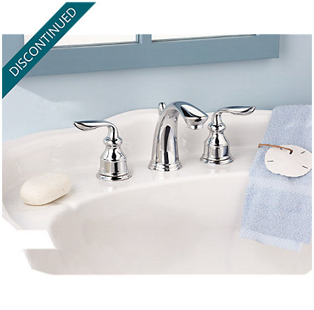 Polished Chrome Avalon Widespread Bath Faucet - 049-CB0C - 4