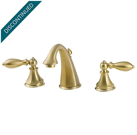 Polished Brass Catalina Widespread Bath Faucet - 049-E0BF - 1