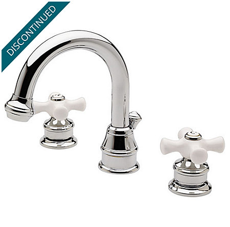 Polished Chrome Savannah Widespread Bath Faucet - 049-H0XC - 1