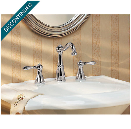 Polished Chrome Marielle Widespread Bath Faucet - 049-M0BC - 2