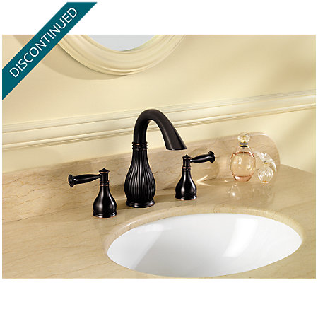 Tuscan Bronze Virtue Widespread Bath Faucet - 049-VTYY - 2