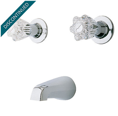 Polished Chrome Tub & Shower Tub Filler - 05-118 - 1