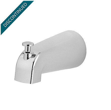 Polished Chrome Pfirst Series Standard Tub Spouts - 115-250A - 1