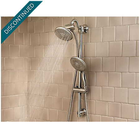 Brushed Nickel Handheld Showers - 016-HH5K - 3