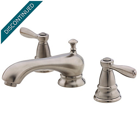 Brushed Nickel Portland Widespread Bath Faucet - T49-PK00 - 1