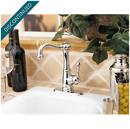 Polished Chrome Marielle  Kitchen Faucet - 072-M1CC - 5