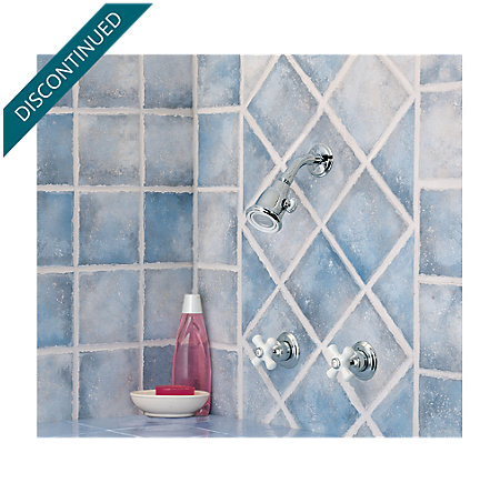 Polished Chrome Savannah Shower Only - 807-8CPC - 1