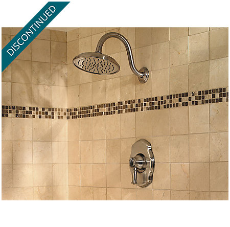 Brushed Nickel Virtue Tub & Shower Combo - 808-VTKK - 2