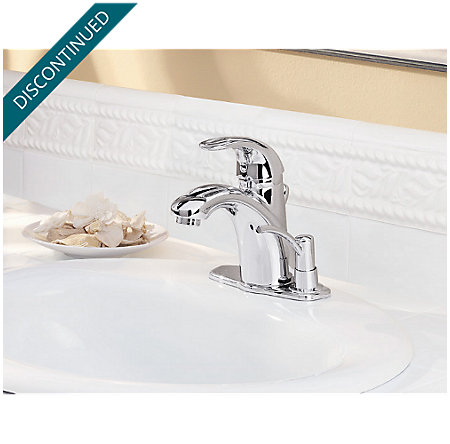 Polished Chrome Parisa Single Control, Centerset Bath Faucet - 8A2-VCSP - 2