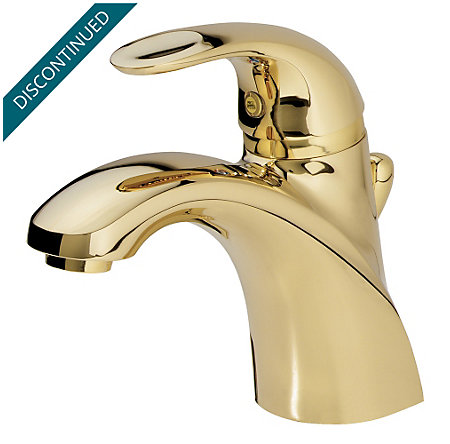 Polished Brass Parisa Single Control, Centerset Bath Faucet - 8A2-VP00 - 1