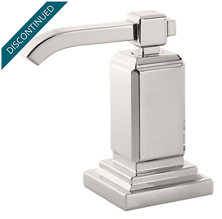 Polished Nickel Carnegie Lav/Roman Tub Handle - 940-167D - 1