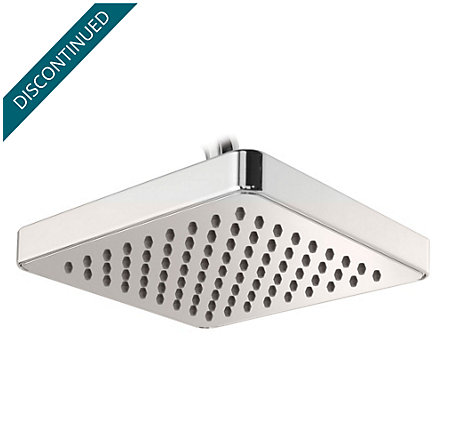 Polished Nickel Raincan Showerhead - 973-036D - 1