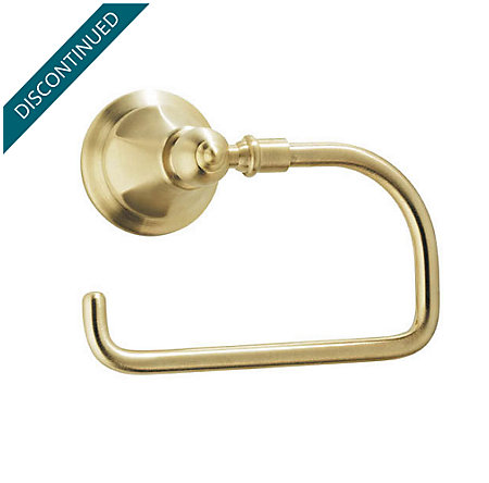 Polished Brass Catalina Tissue Holder - BPH-E1FF - 1