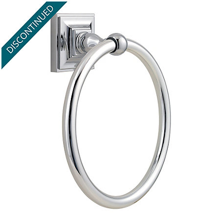 Polished Chrome Shelton Towel Ring - BRB-S0CC - 1