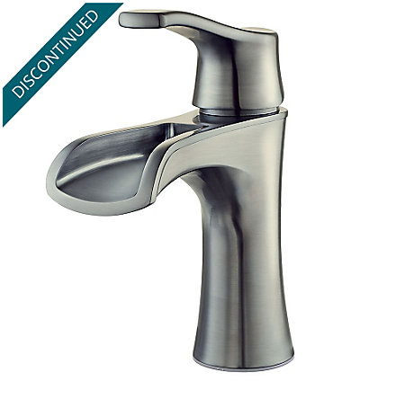 Brushed Nickel Aliante Single Control, Centerset Bath Faucet - F-042-ATKK - 1