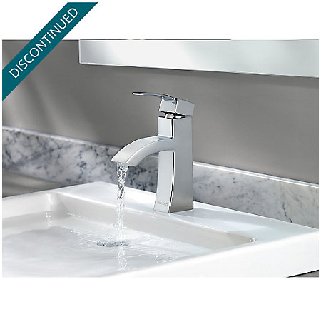 Polished Chrome Bernini Single Control, Centerset Bath Faucet - F-042-BNCC - 5