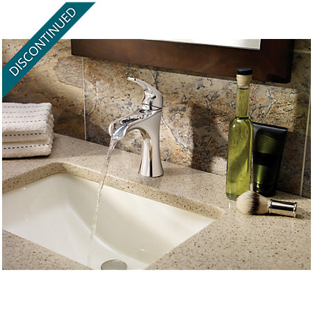 Polished Chrome Jaida Single Control, Centerset Bath Faucet - F-042-JDCC - 3