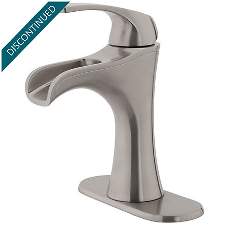 Brushed Nickel Jaida Single Control, Centerset Bath Faucet - F-042-JDKK - 2