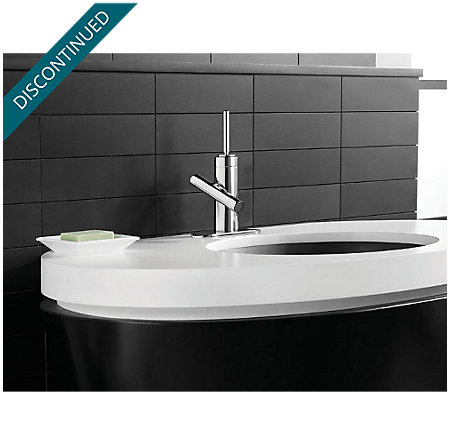 Polished Chrome Contempra Single Control, Centerset Bath Faucet - F-042-NC00 - 3