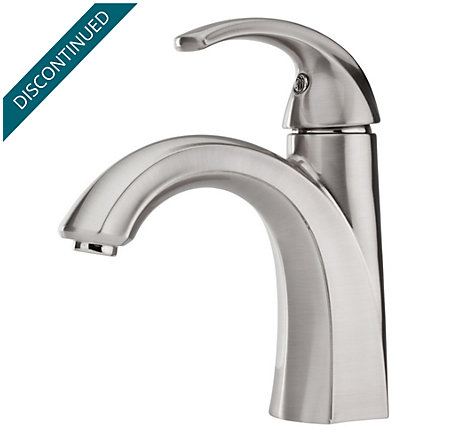 Brushed Nickel Selia Single Control, Centerset Bath Faucet - F-042-SLKK - 1