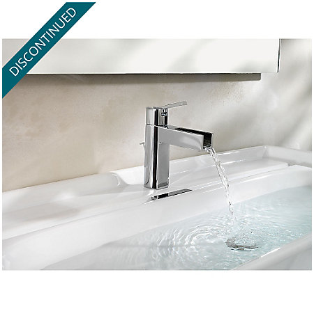 Brushed Nickel Vega Single Control, Centerset Bath Faucet - F-042-VGKK - 6