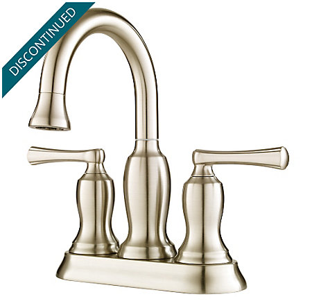 Brushed Nickel Lindosa Centerset  Bath Faucet - F-043-LDKK - 1