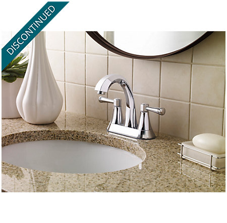 Polished Chrome Altavista Centerset Bath Faucet - F-048-AVCC - 3