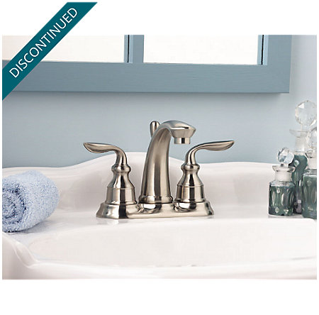 Brushed Nickel Avalon Centerset Bath Faucet - F-048-CB0K - 4