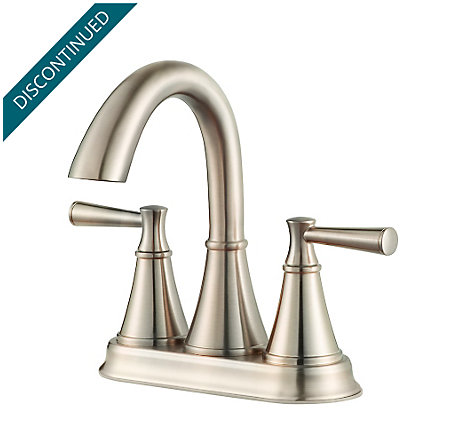 Brushed Nickel Cantara Centerset Bath Faucet - F-048-CRKK - 1
