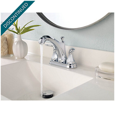 Polished Chrome Designer Centerset Bath Faucet - F-048-DECC - 2