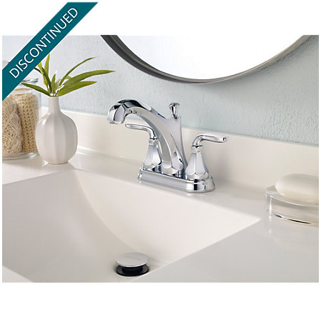 Polished Chrome Designer Centerset Bath Faucet - F-048-DECC - 3
