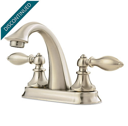Brushed Nickel Catalina Centerset Bath Faucet - F-048-E0BK - 2