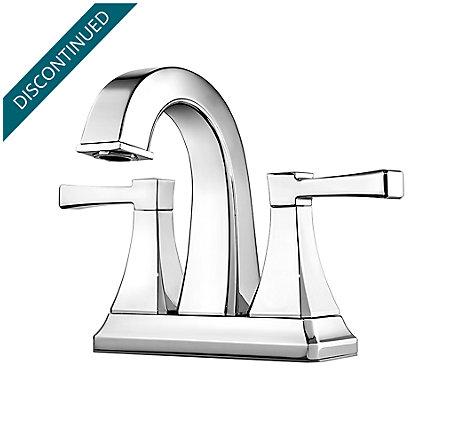 Polished Chrome Halifax Centerset Bath Faucet - F-048-HLCC - 1
