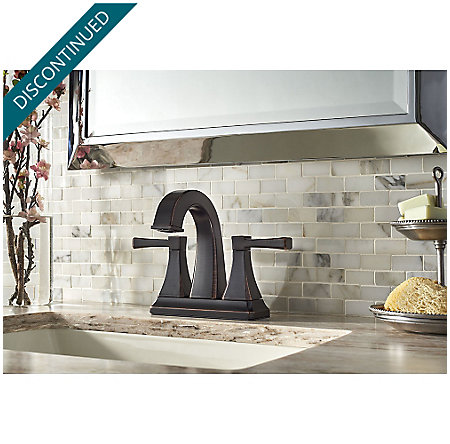 Tuscan Bronze Halifax Centerset Bath Faucet F 048 Hlyy Pfister Faucets