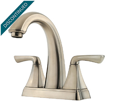 Brushed Nickel Selia Centerset Bath Faucet F 048 Slkk