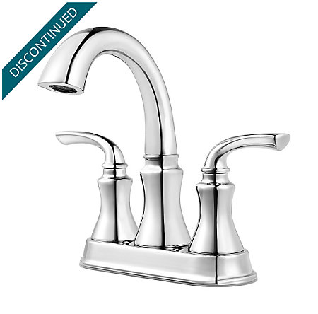 Polished Chrome Solita Centerset Bath Faucet - F-048-SOCC - 1