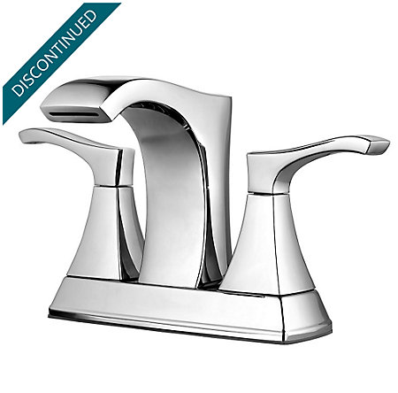 Polished Chrome Venturi Centerset Bath Faucet - F-048-VNCC - 1