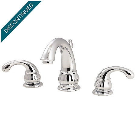 Polished Chrome Treviso Widespread Bath Faucet - F-049-DC00 - 1
