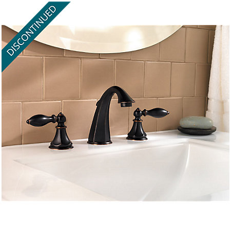 Tuscan Bronze Catalina Widespread Bath Faucet - F-049-E0BY - 2