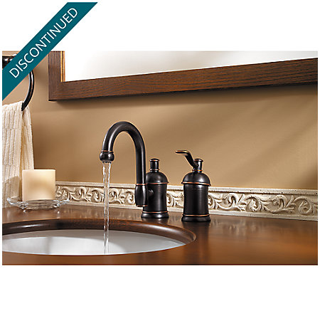 Tuscan Bronze Amherst Widespread Bath Faucet - F-049-HA1Y - 3