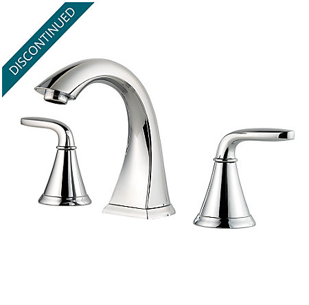 Polished Chrome Pasadena Widespread Bath Faucet - F-049-PDCC - 1