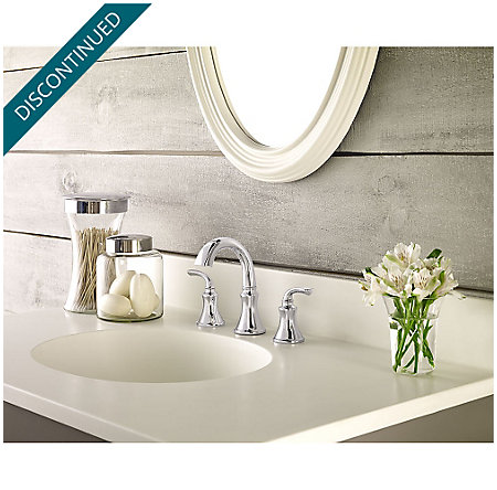 Polished Chrome Solita Widespread Bath Faucet - F-049-SOCC - 2