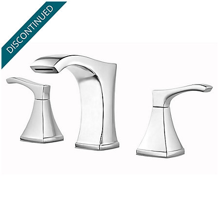 Polished Chrome Venturi Widespread Bath Faucet - F-049-VNCC - 1