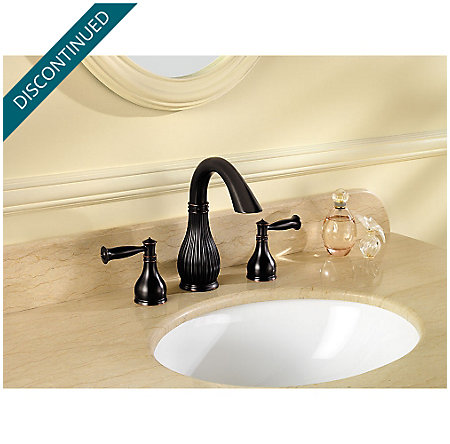 Tuscan Bronze Virtue Widespread Bath Faucet - F-049-VTYY - 2