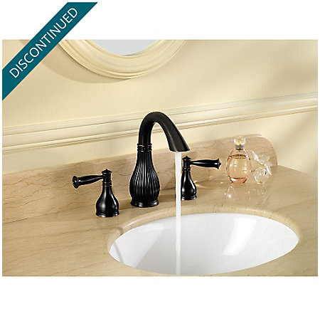 Tuscan Bronze Virtue Widespread Bath Faucet - F-049-VTYY - 3
