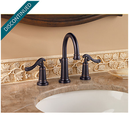 Tuscan Bronze Ashfield Widespread Bath Faucet - F-049-YP0Y - 2
