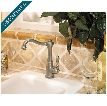 Rustic Pewter Marielle Bar/Prep Kitchen Faucet - F-072-M1EE - 3