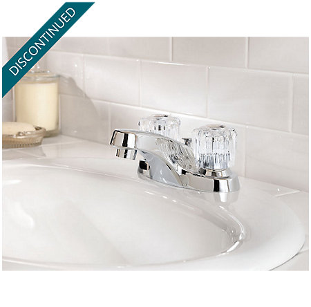 Polished Chrome Classic Centerset Bath Faucet - F-WL2-200C - 2