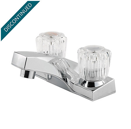 Polished Chrome Pfirst Series Centerset Bath Faucet - G143-6002 - 1