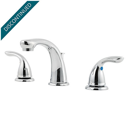 Polished Chrome Pfirst Series Widespread Bath Faucet - G149-5100 - 1